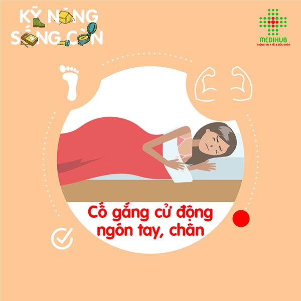 Những chuyển động nhỏ này sẽ đẩy lùi trạng thái tê liệt khi ngủ, giúp bạn nhanh thoát khỏi bị bóng đè.