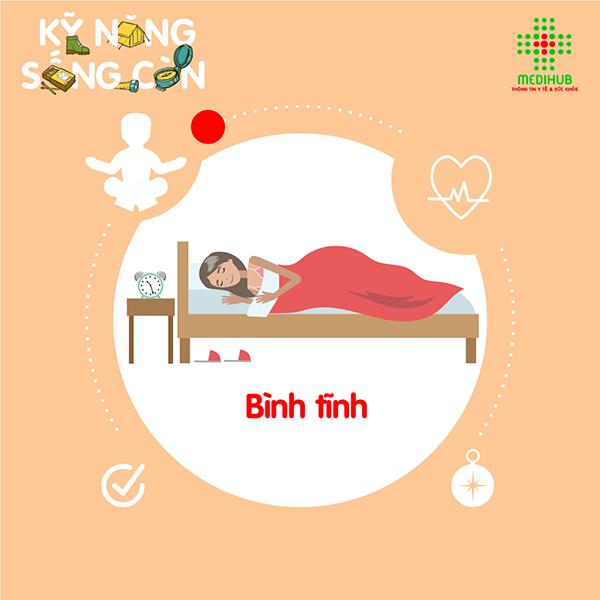 Bóng đè chỉ đơn giản là một cơn tê liệt khi ngủ, càng bình tĩnh, bạn càng nhanh chóng thoát khỏi tình trạng này.
