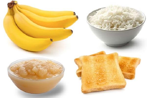 Chế độ ăn BRAT được khuyên dùng điều trị tiêu chảy ở trẻ em