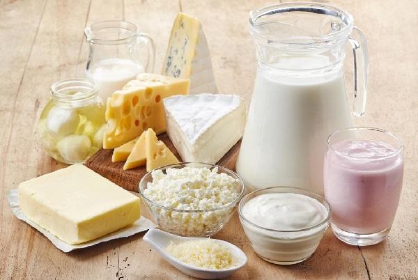 Sữa và các sản phẩm từ sữa là thực phẩm được khuyên dùng
