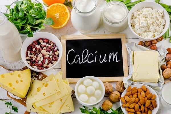 Bổ sung các thực phẩm giàu canxi là cần thiết trong chế độ dinh dưỡng cho bà bầu tháng thứ 9
