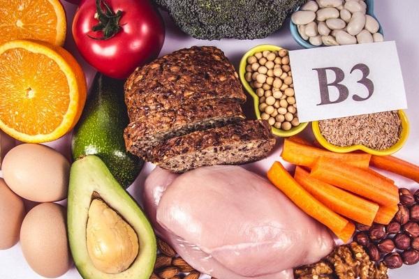 Vitamin B3 có nhiều trong thịt, trứng, khoai tây và các loại đậu