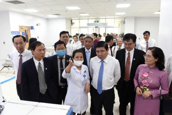Bệnh viện Ung Bướu cơ sở 2 trở thành cơ sở y tế có lĩnh vực chuyên môn sâu của khu vực Đông Nam Á nói chung và khu phía Nam thành phố nói riêng.
