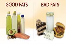 Phân biệt chất béo có lợi - có hại cho cơ thể