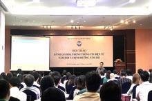 Hội thảo đánh giá hoạt động thông tin điện tử năm 2020