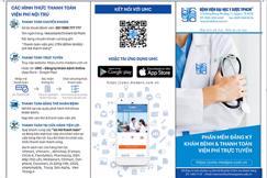 Bệnh viện ĐH Y dược triển khai ứng dụng đăng ký khám bệnh và thanh toán trực tuyến