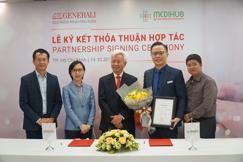 Lễ ký kết tư vấn bảo hiểm nhân thọ kênh y tế giữa Generali Việt Nam và MediHub