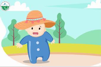 Bảo vệ trẻ khỏi tác hại của ánh nắng